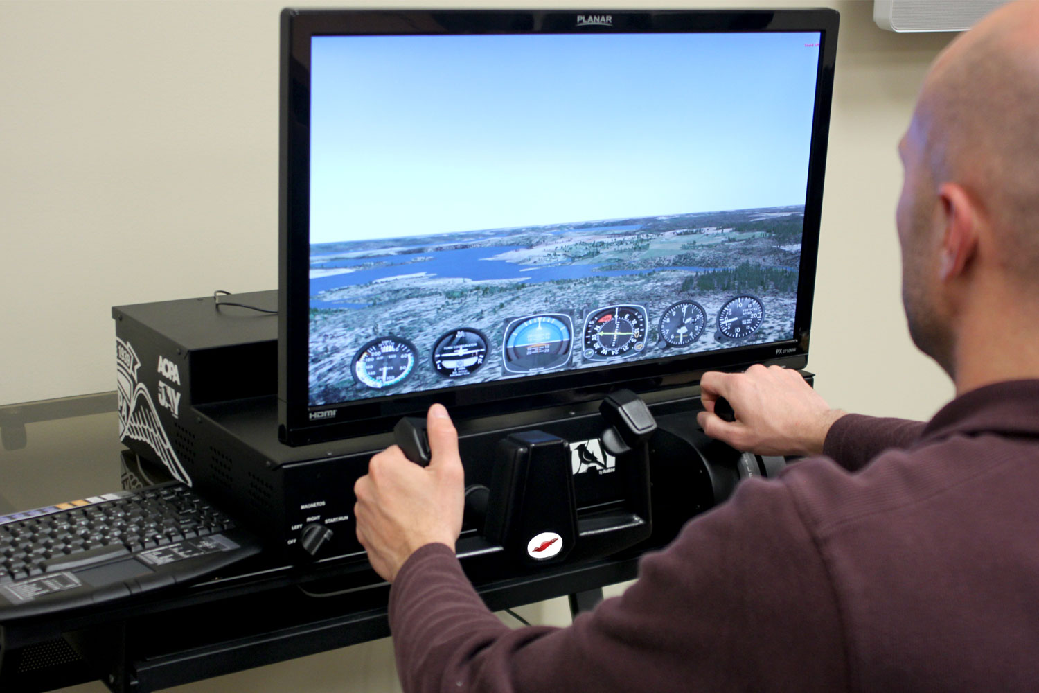 Home flight simulator set up - Easy To Setup Easy To Use